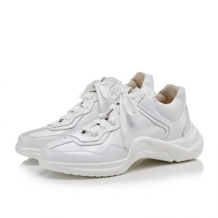 奈绮儿 ins超火的鞋子老爹鞋原宿百搭小白鞋运动鞋女鞋子·白/多色