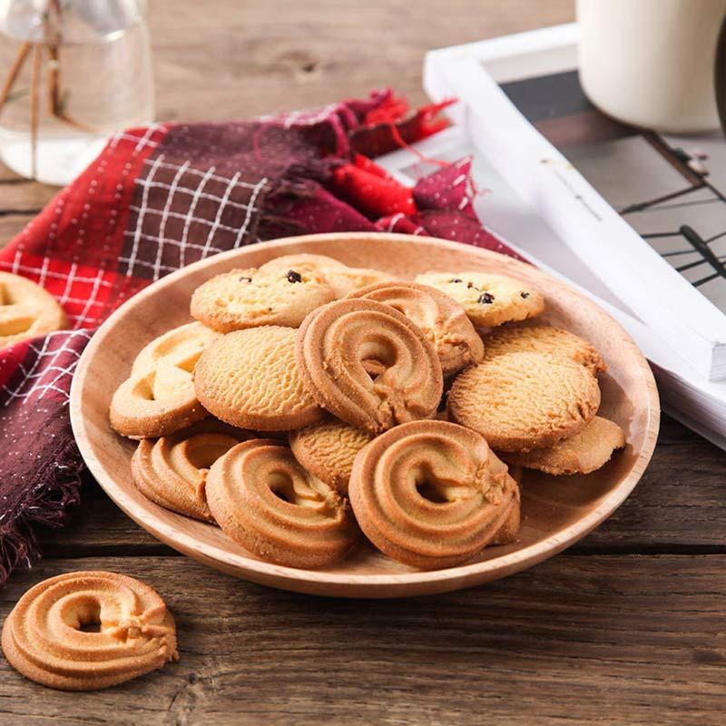 马来西亚进口乐卡斯黄油曲奇饼干礼盒套装1033g*2盒