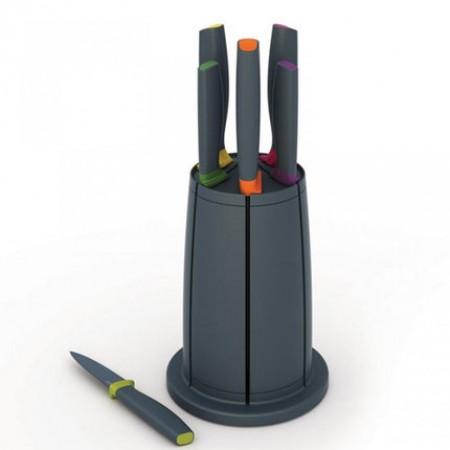 英国Joseph Joseph厨房用品黑锋不锈钢刀具六件套10077·黑色