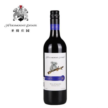 澳大利亚圣骑庄园考拉精选西拉干红葡萄酒-南航款-单瓶(送海马刀)