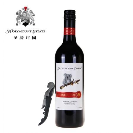 澳大利亚圣骑庄园考拉精选赤霞珠干红葡萄酒-南航款-单瓶(送海马刀)
