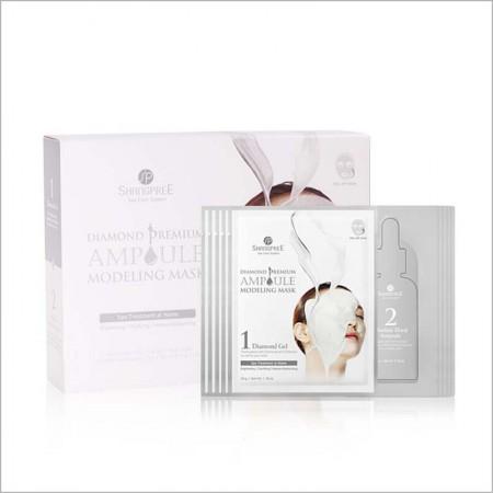 香港直邮 韩国SHANGPREE香蒲丽新款面膜黄金软膜白5片/1盒