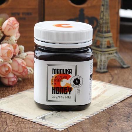 新西兰进口 康培尔麦卢卡蜂蜜5+ (250g*2瓶)