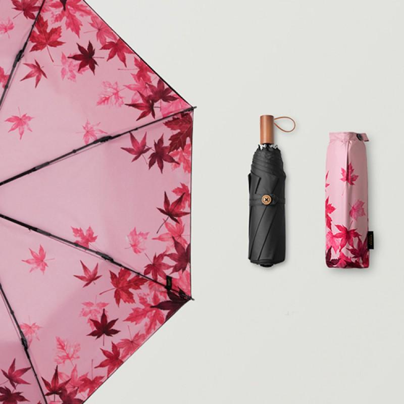 BANANA蕉下双层黑胶防晒防紫外线小黑伞遮阳挡雨枫摇·枫摇