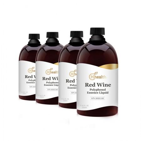 跨境品直邮加拿大原装进口H Health红酒多酚精华原液组合