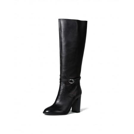 bagatt女士意大利原装进口长靴10E925GIAPP·黑色