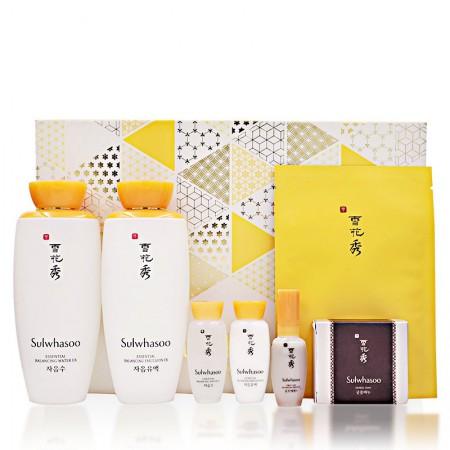 香港直邮 雪花秀 滋盈肌本水乳+蜜皂护肤套装