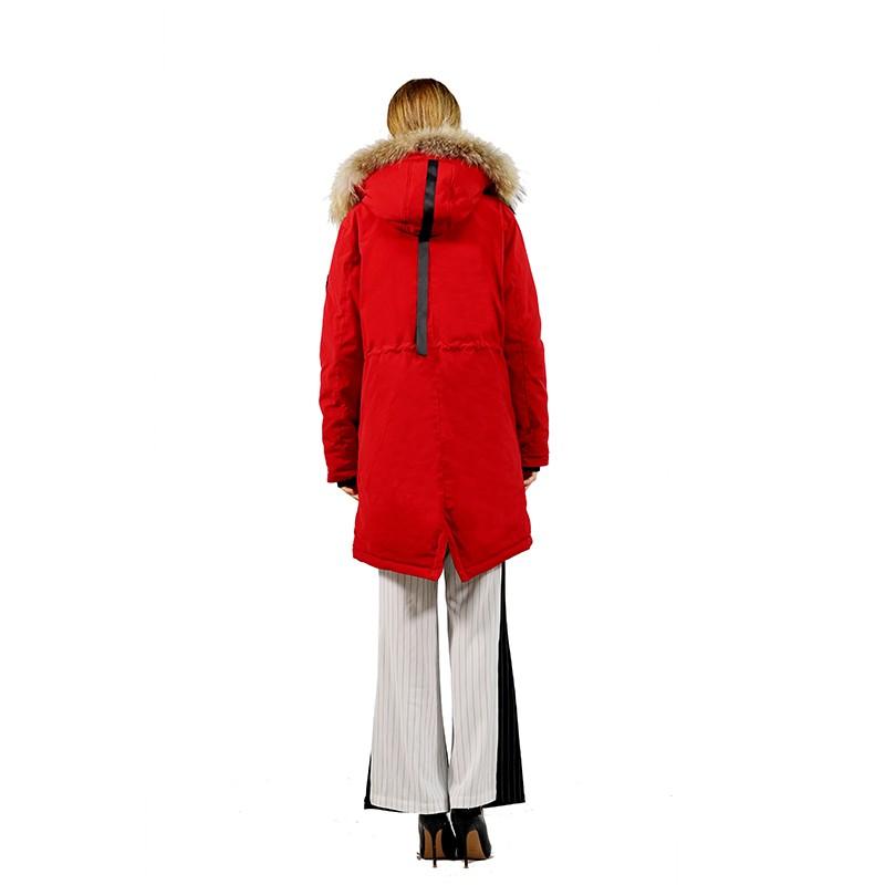 美国Rampage奢华抗寒鹅绒尼克服(女)·红色