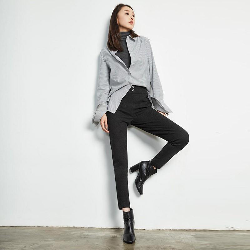 芭芭利亚时尚舒暖女士鹅绒裤