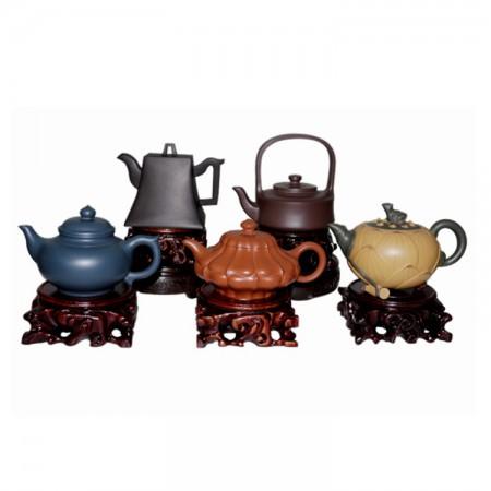 富贵土经典紫砂壶茶具套组