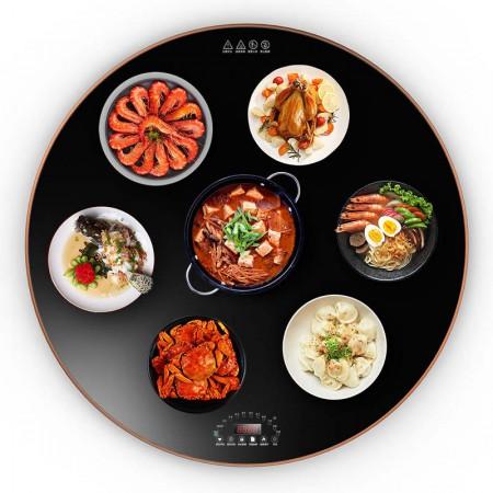Flypigs 60CM固定家用暖菜板智能恒温加热保温板301A款·黑色