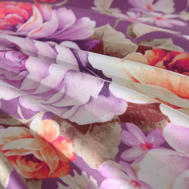 梦洁 MEE纯棉磨毛印花四件套英伦花卉 凯赛琳200x230cm