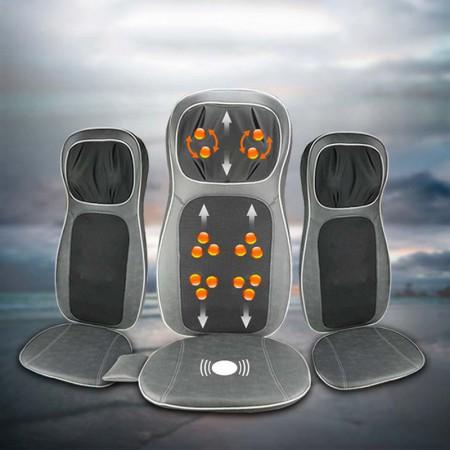 asmek四合一多功能按摩靠垫全身 颈部腰部肩部按摩椅垫 肩颈脖子按摩仪