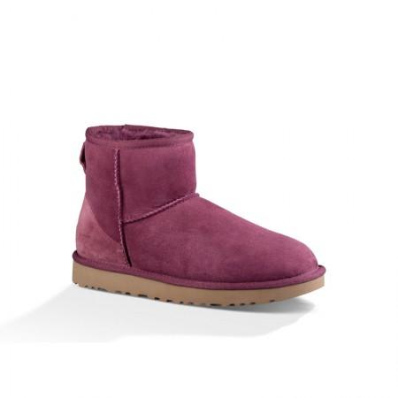美国UGG Angelababy代言休闲经典款短靴·玫红色