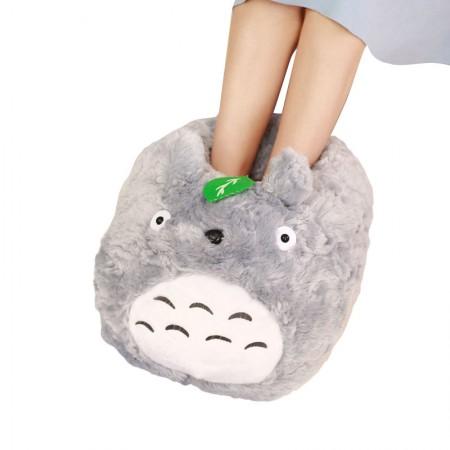 漫漫猪 创意冬季暖脚宝 可爱毛绒卡通动物·龙猫