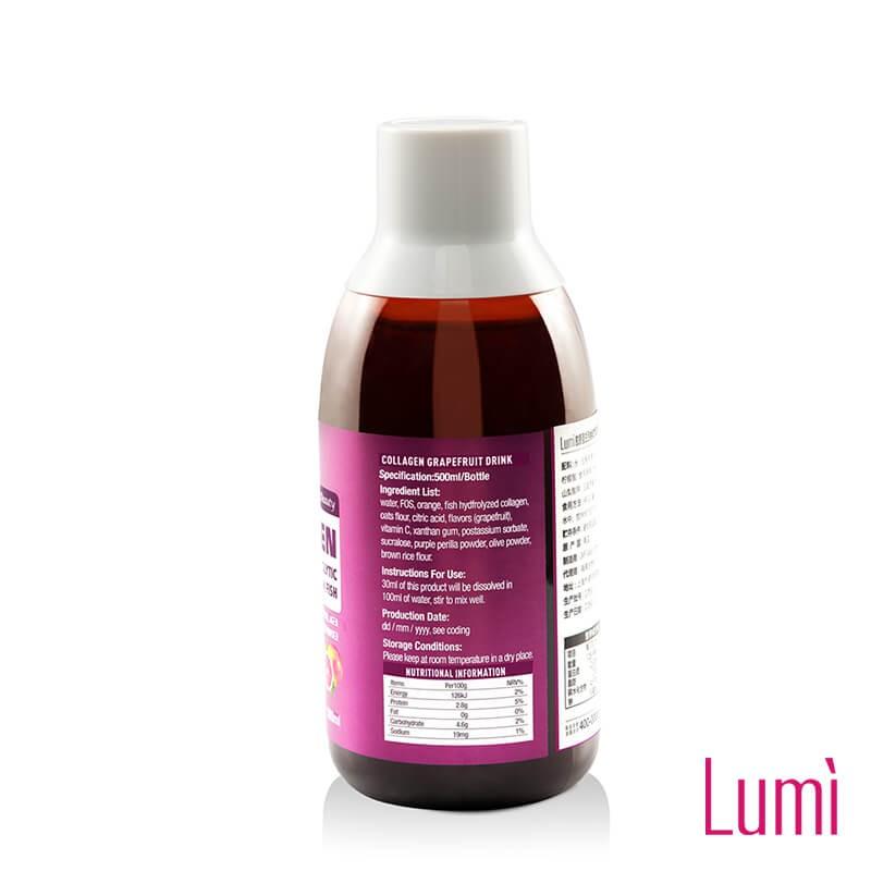 美国进口 Lumi西柚味胶原蛋白500ml