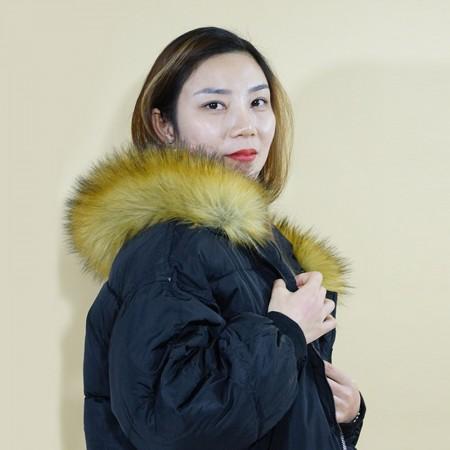 3QR 韩范女士棉服·黑色