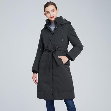 大牌福利最后一波!皮尔卡丹中长款显瘦保暖羽绒服·多款多色!超值抢购!史低价!