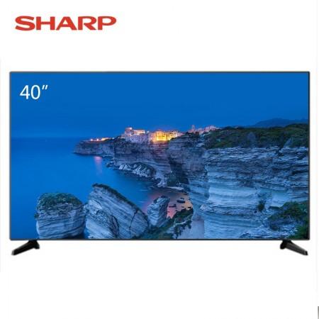 夏普40寸液晶平板智能电视F40YP1·黑