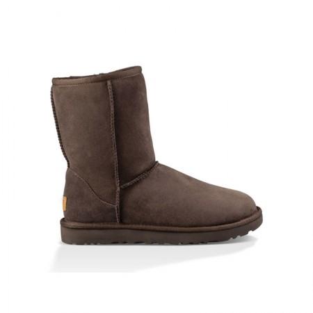 美国UGG Angelababy代言休闲经典款中筒靴雪地靴·经典巧克力色  经典