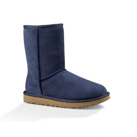 美国UGG Angelababy代言休闲经典款中筒靴雪地靴·经典蓝色