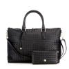 FINNESKER 编织手拎包·2个·黑色