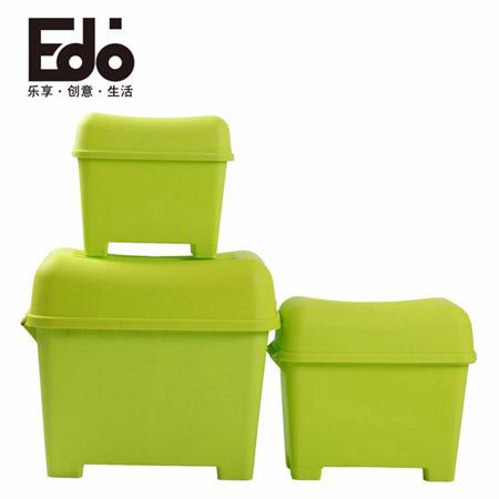 EDO 小号储物凳子 绿色