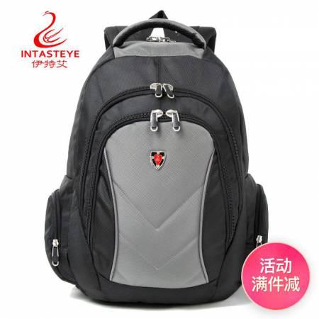 伊特艾 大容量双肩包旅行包休闲背囊包电脑背包男包女包29·29A0灰色