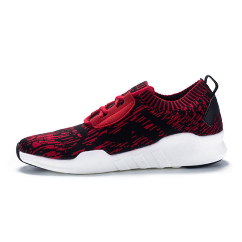 情侣运动鞋飞线飞织跑步运动鞋软底轻便鞋子男潮鞋·121712210041-红色