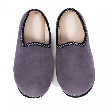 菲罗菈防滑男款包跟家居鞋 灰色