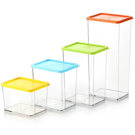[鲜乐仕SUNRISE] 魔法整理盒特惠装20件套组 透明