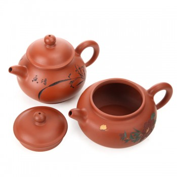 """范惠英""""彩绘紫砂壶""""收藏组 红色"""