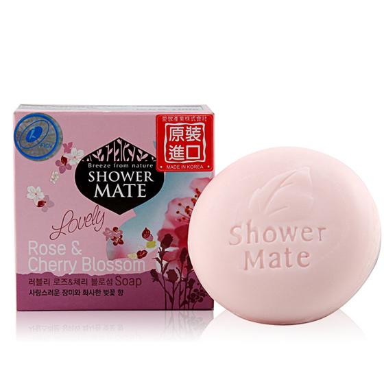 爱敬玫瑰橄榄香皂10块组(单块仅约12元)