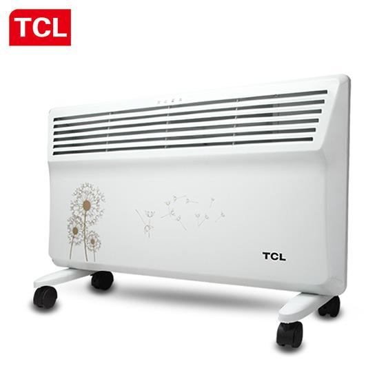 TCL居浴两用对流式电暖器 白色
