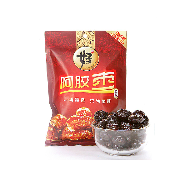 [好牌]沧州特产原味香甜阿胶蜜枣258g×10袋