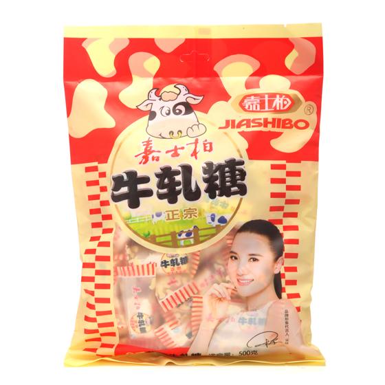 嘉士柏花生牛轧糖500g*2袋 台湾口味