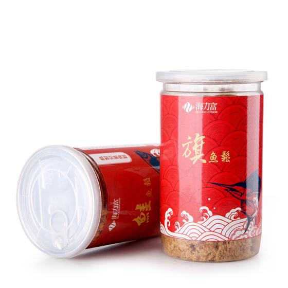 台湾原装海力富鱼松300g*2瓶 营养极高
