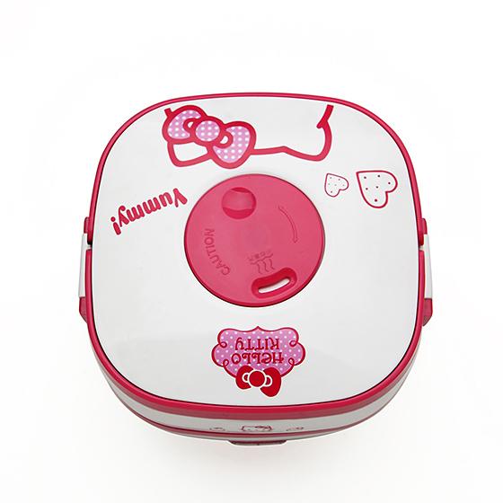 香港惠家多功能电蒸饭盒 Hellokitty 粉色