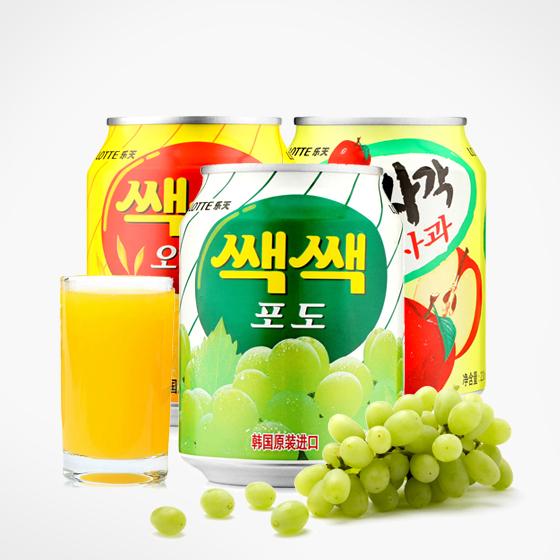 韩国进口乐天饮料24罐超值组