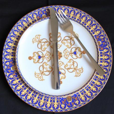 [迪奥百合] 斯里兰卡西餐盘子4件套