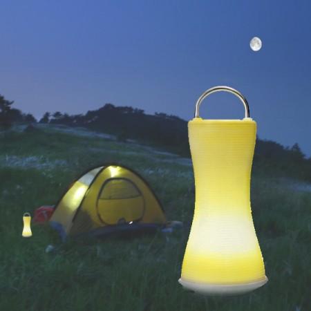 罗尔思小精灵便携可移动LED灯 乳白色