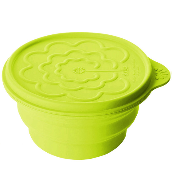 Stylor花色折叠碗 绿色