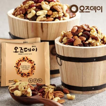 韩国混合坚果14袋*4盒 吃点营养多点