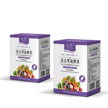 乐蜂综合果蔬酵素12袋*2盒 排毒养颜
