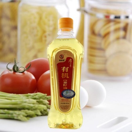老知青有机山茶油900ml