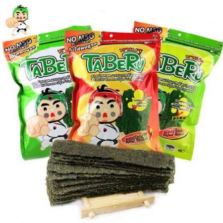 泰国原装进口大拳头炸海苔三种口味混合装