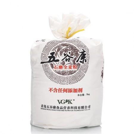 五谷康有机石磨全麦粉5kg