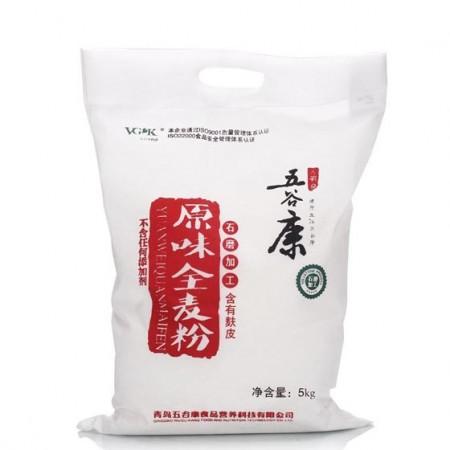 五谷康原味全麦粉5kg