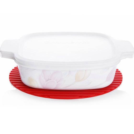康宁VISIONS 晶彩透明锅专用硅胶手套锅垫三件套