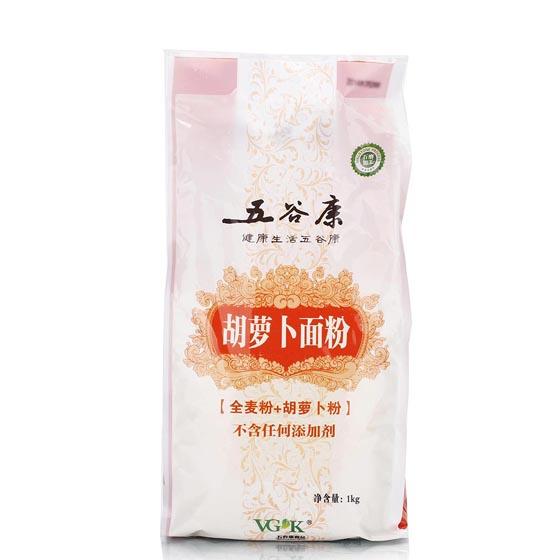 五谷康胡萝卜面粉1kg